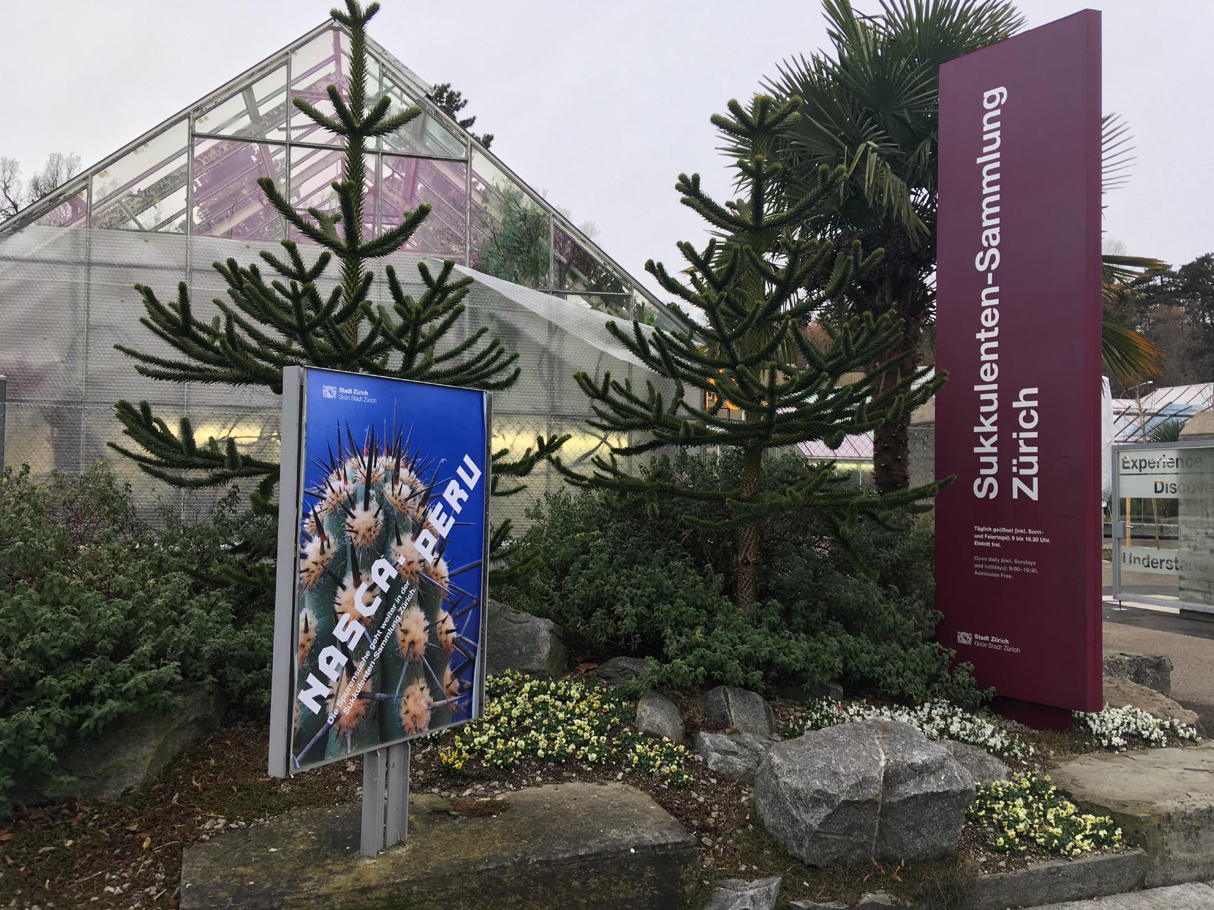 Sukkulenten Sammlung Zürich, Switzerland Attractions Lonely Planet ~ 15105120_Sukkulenten Sammlung Zürich Parkplatz