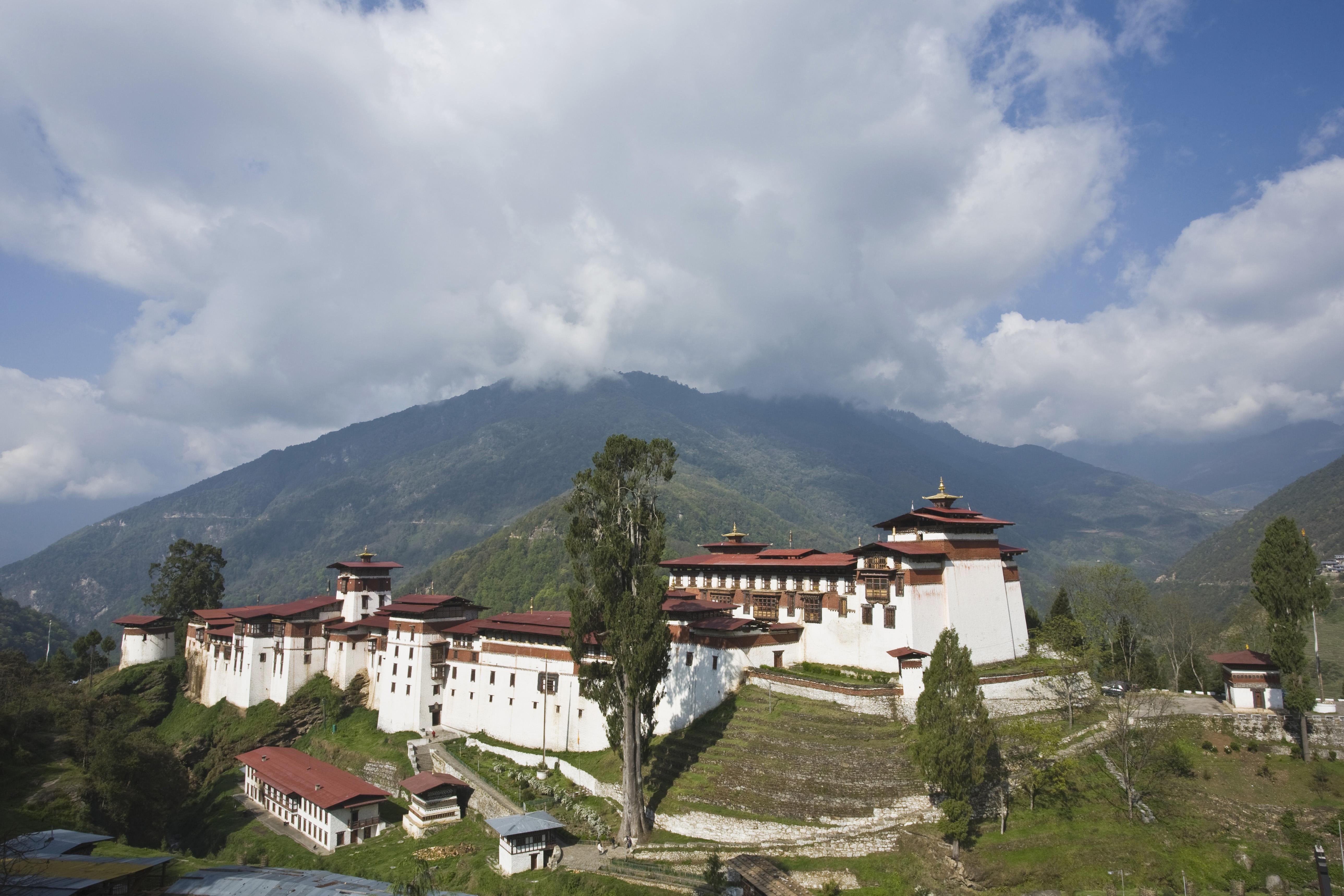 Trongsa Dzong in Trongsa Bhutan Lonely Planet