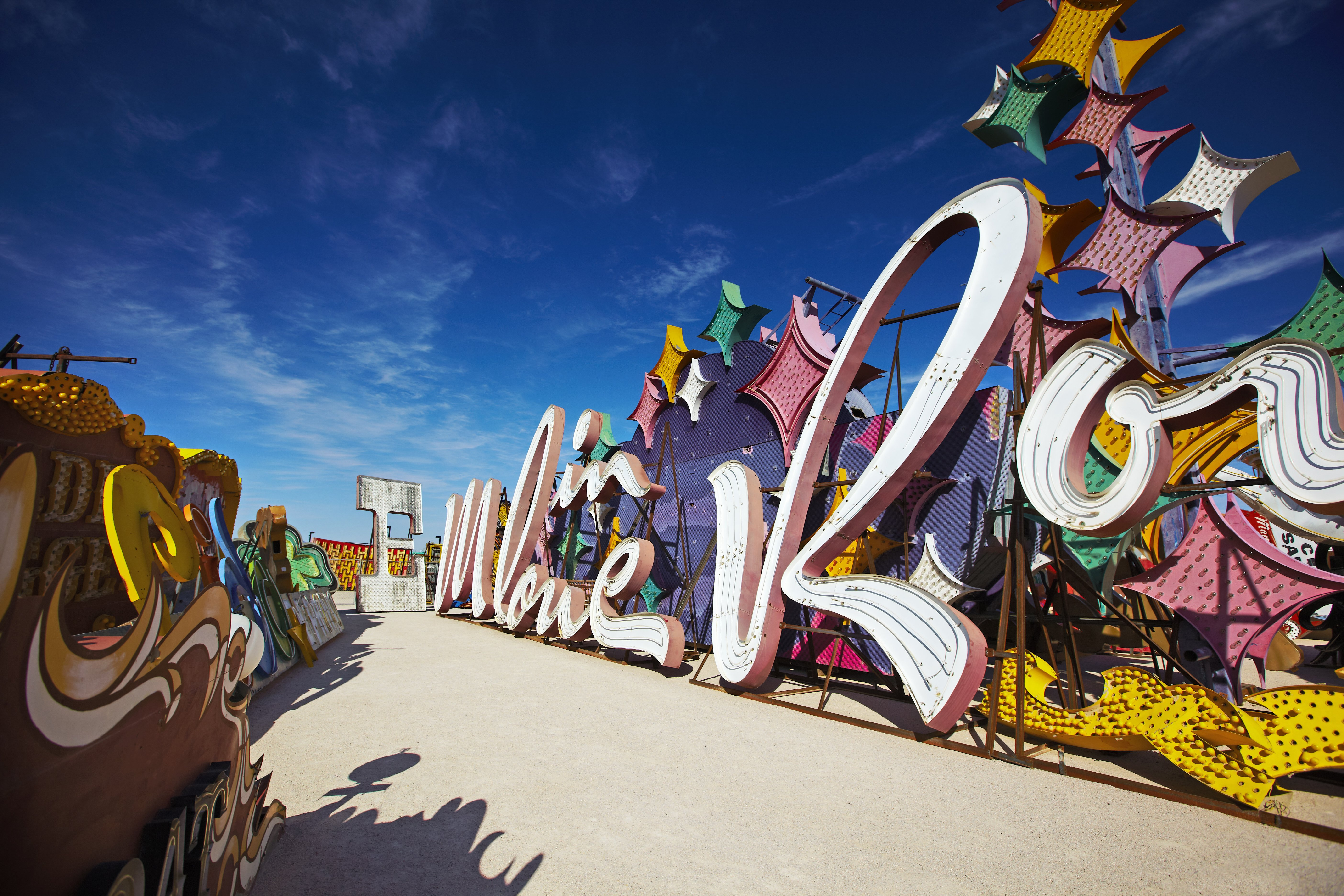 Neon Museum Neon Boneyard Las Vegas Usa Attractions