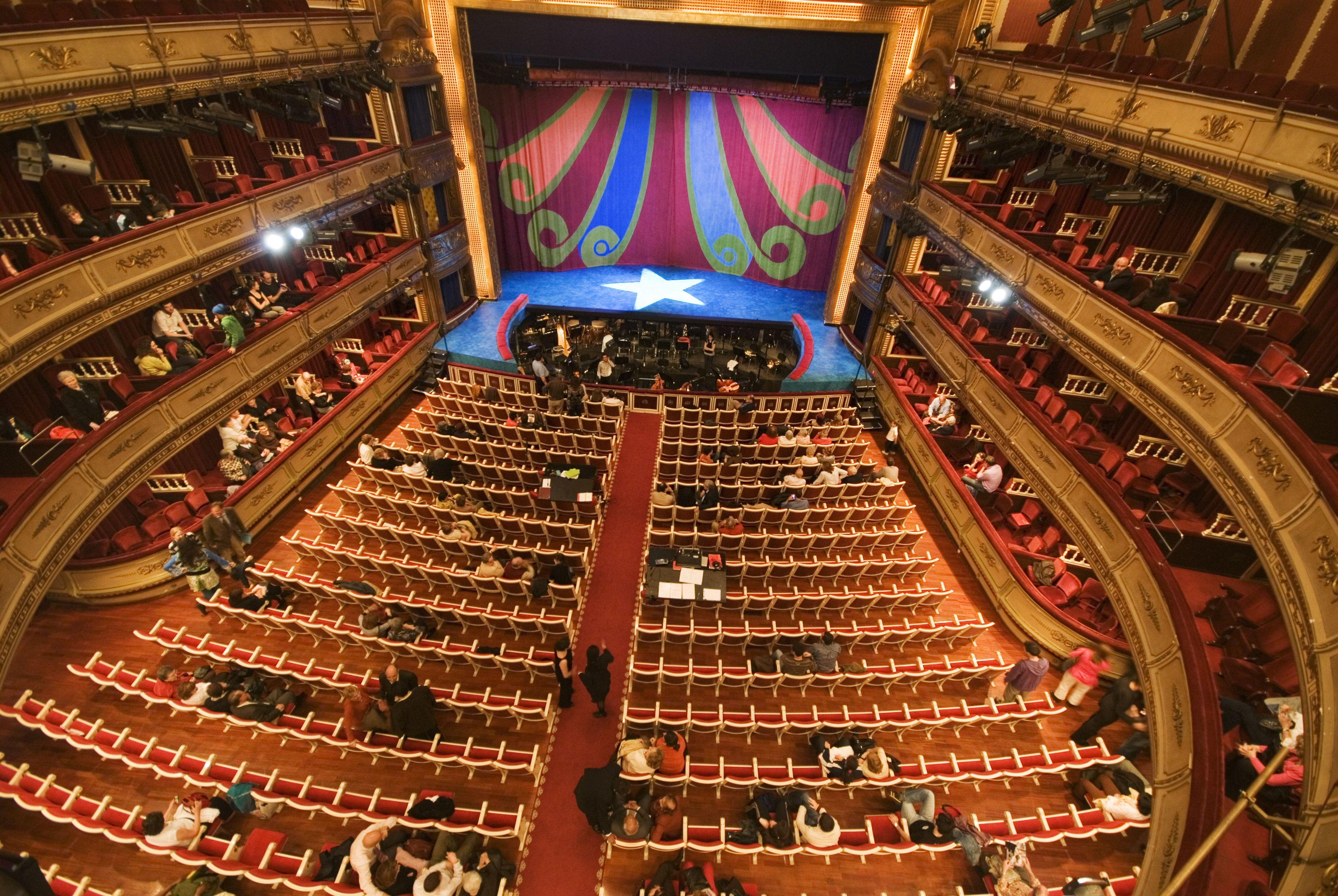 Teatro De La Zarzuela Madrid Spain Entertainment