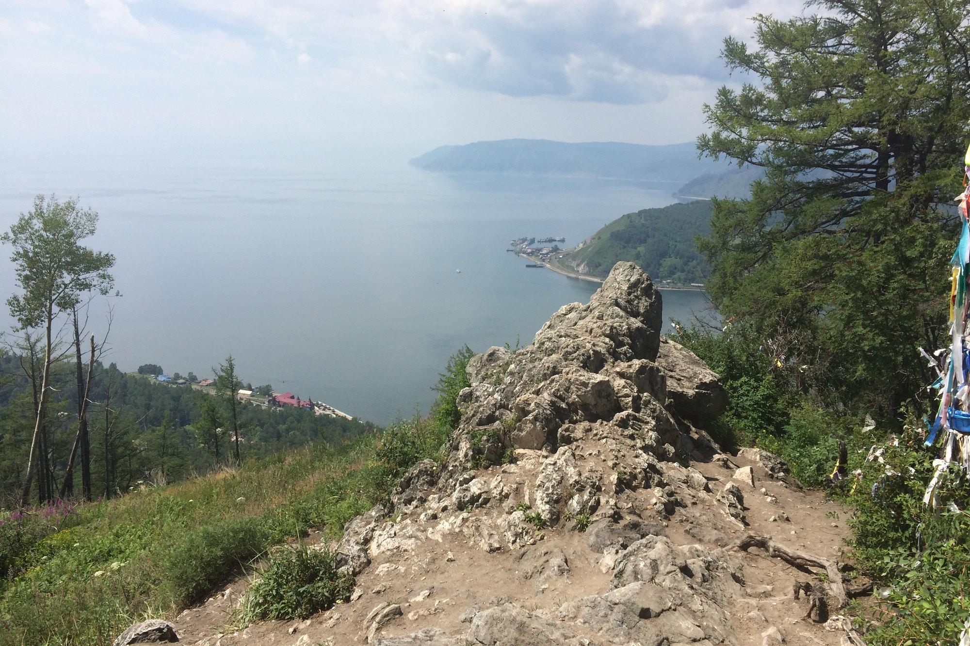 Beautiful views over Lake Baikal