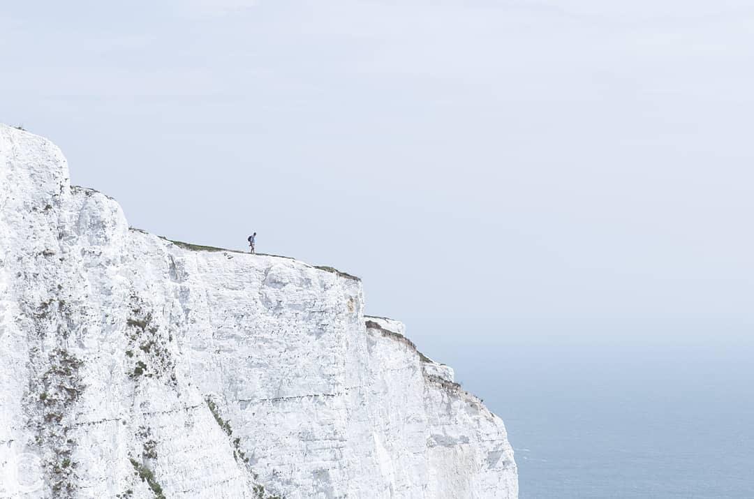 The White Cliffs of Dover, England © Romi Nicole Schneider