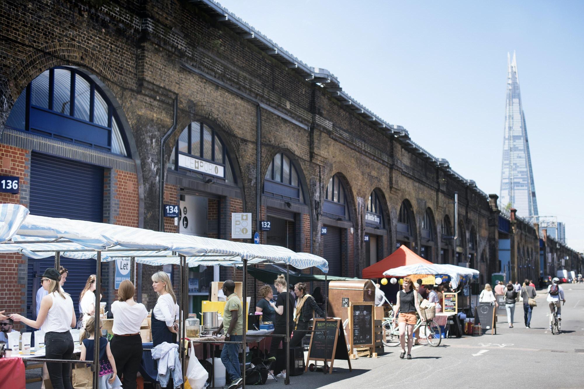 Maltby Street Market, Bermondsey © Issy Croker / Lonely Planet