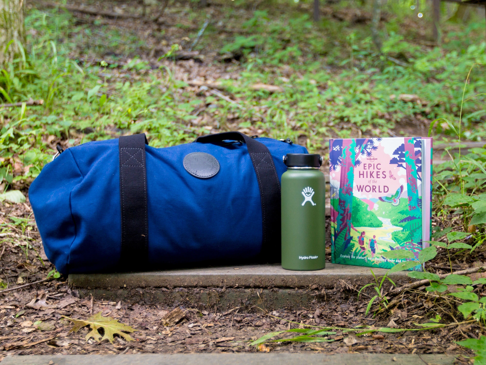 Second prize: a Duluth Round Duffel bag, Hydro Flask and Lonely Planet's Epic Hikes of the World