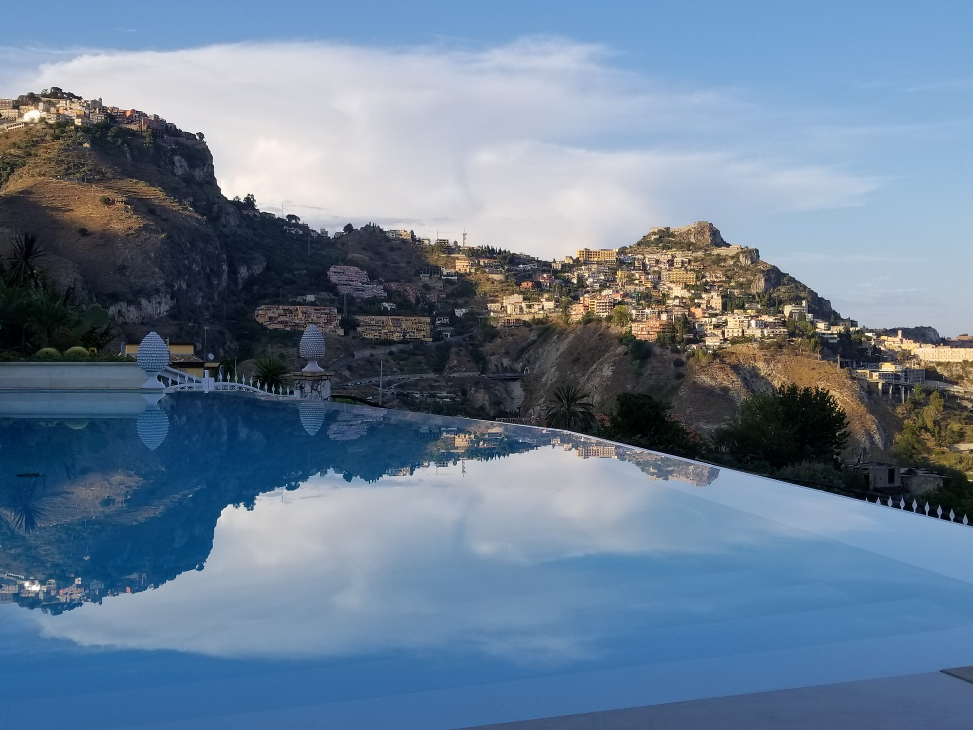 Dreamy hotel views in Taormina © Brian Maxey