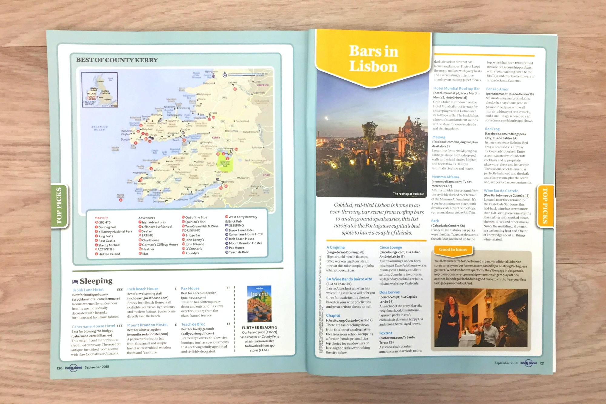 FREE mini-guides: Tokyo, County Kerry, Lisbon and Florida