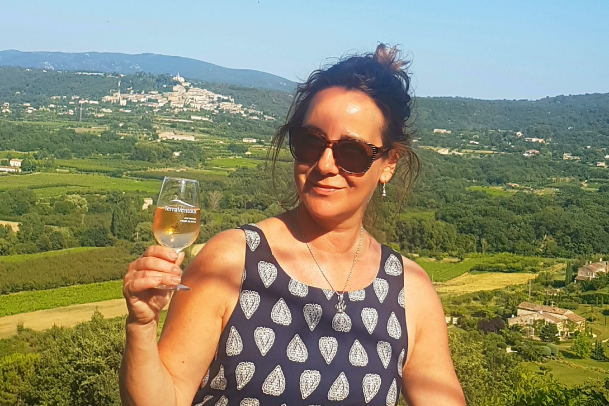 Andrea in the South of France © Andrea Schulte-Peevers