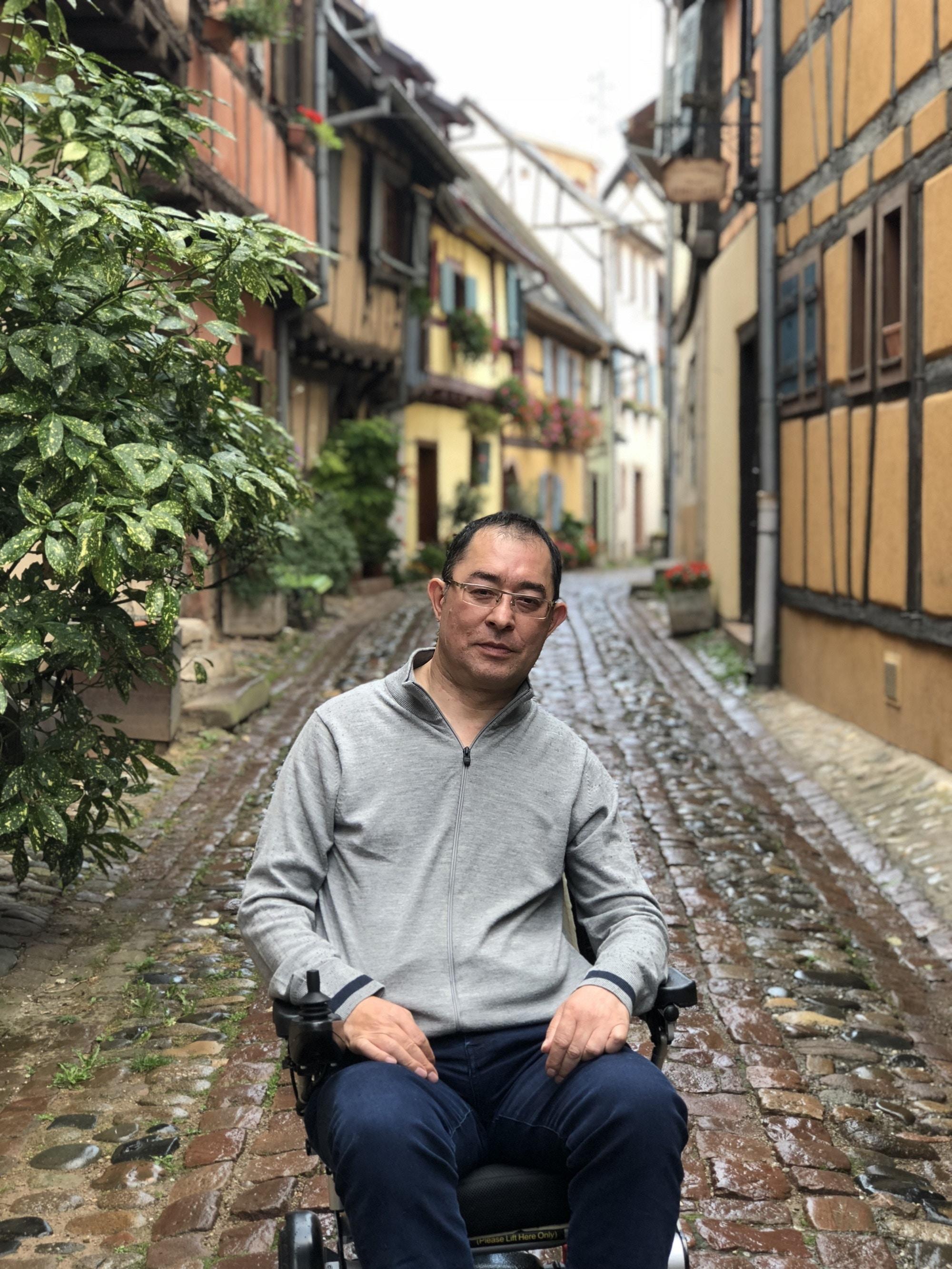 Martin Heng in Eguisheim, France