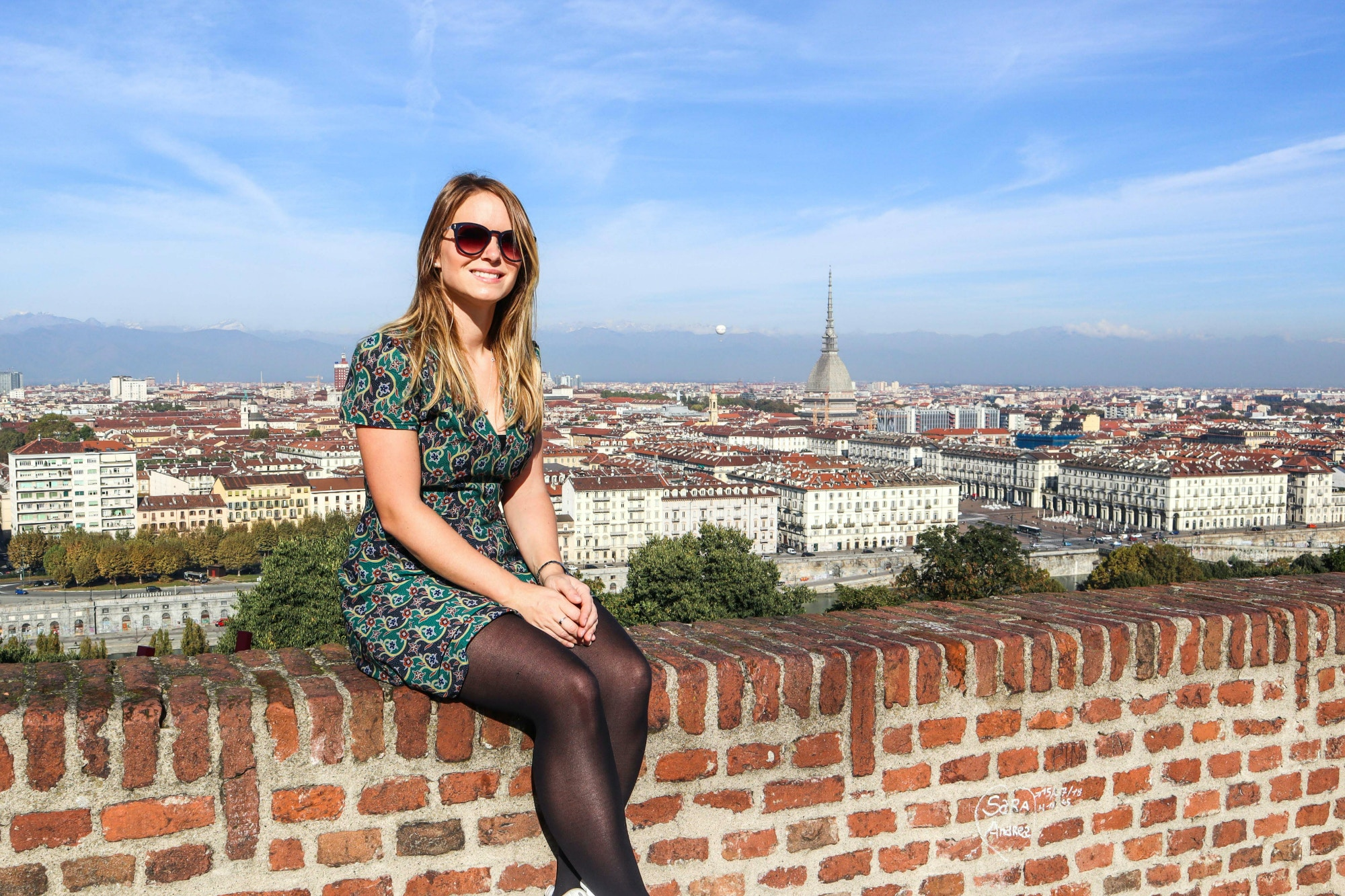 Lonely Planet Pathfinder and blogger Chloe Gunning in Turin, Italy