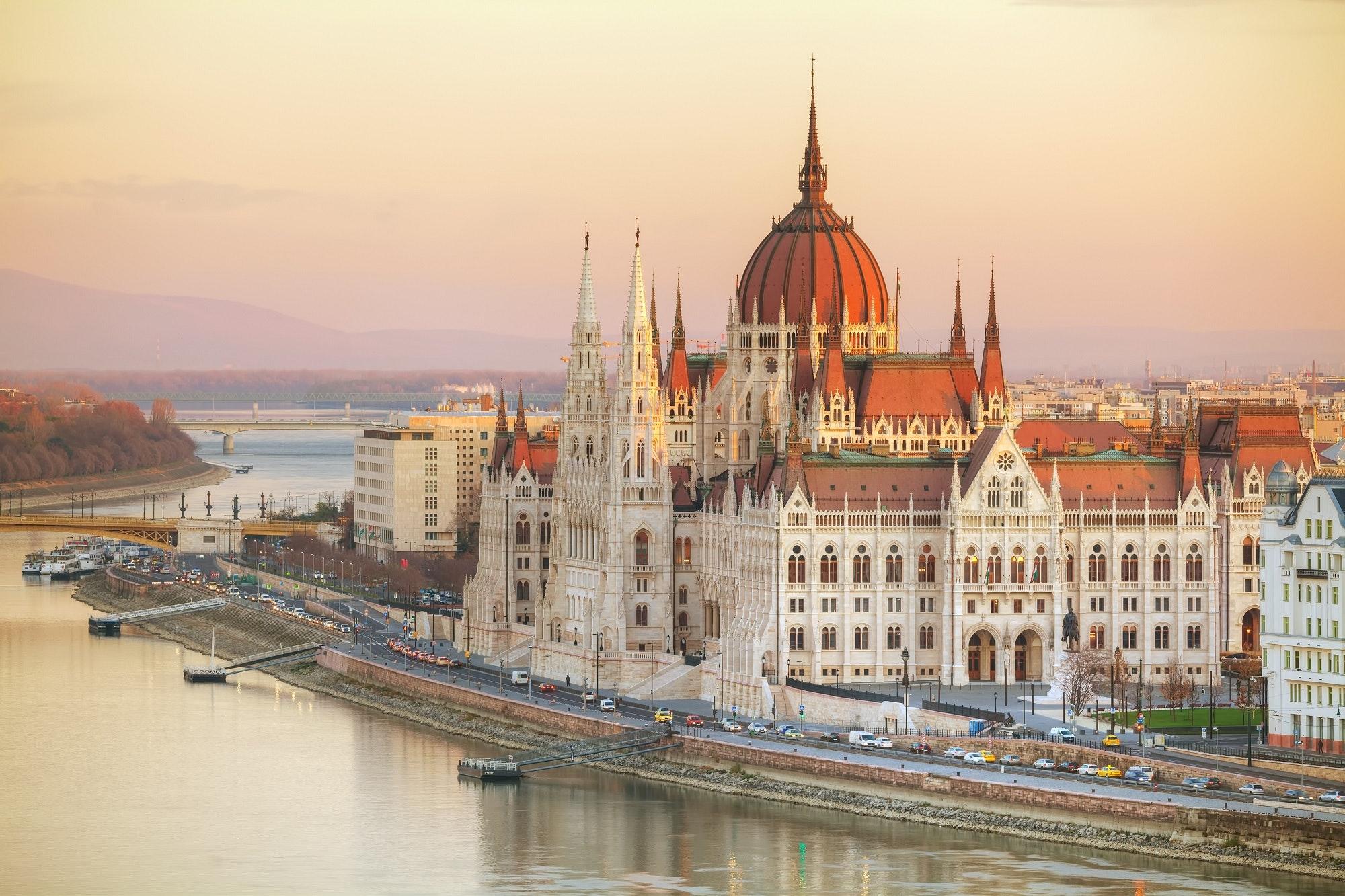 Budapest's dazzling Parliament building