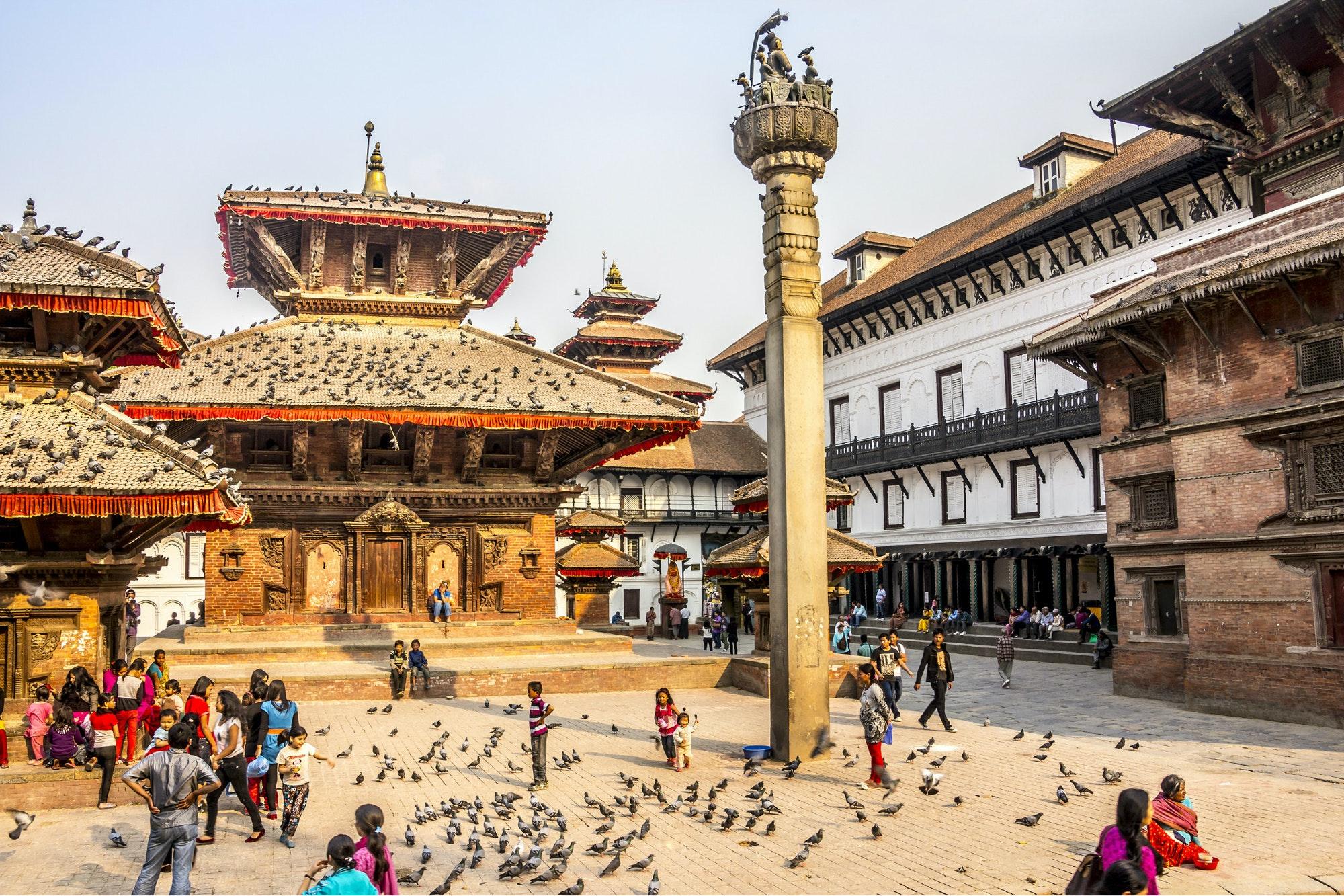 World Heritage-listed Durbar Square, Kathmandu