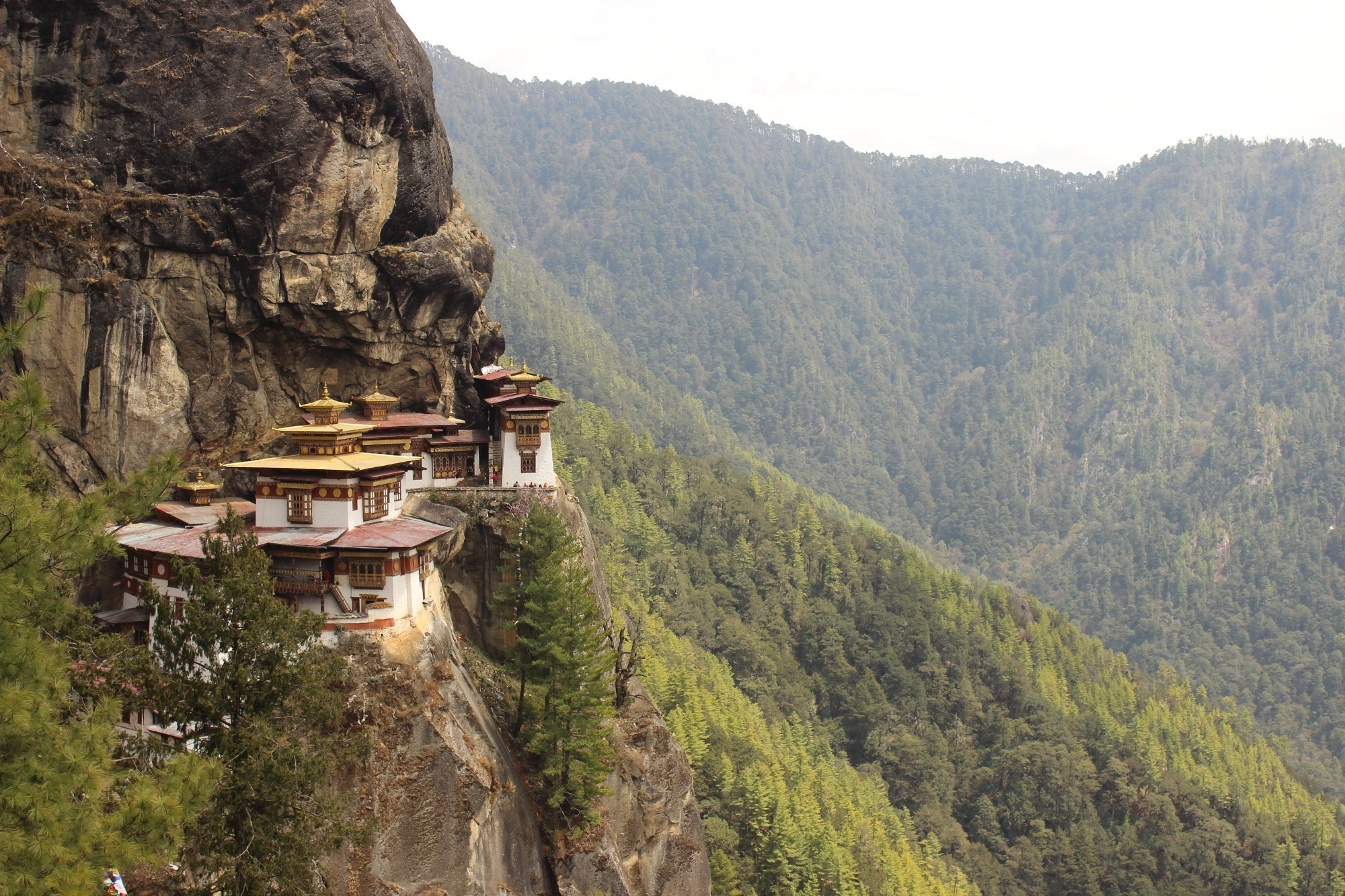 The remote Tiger's Nest temple in Bhutan © Kalyan Panja