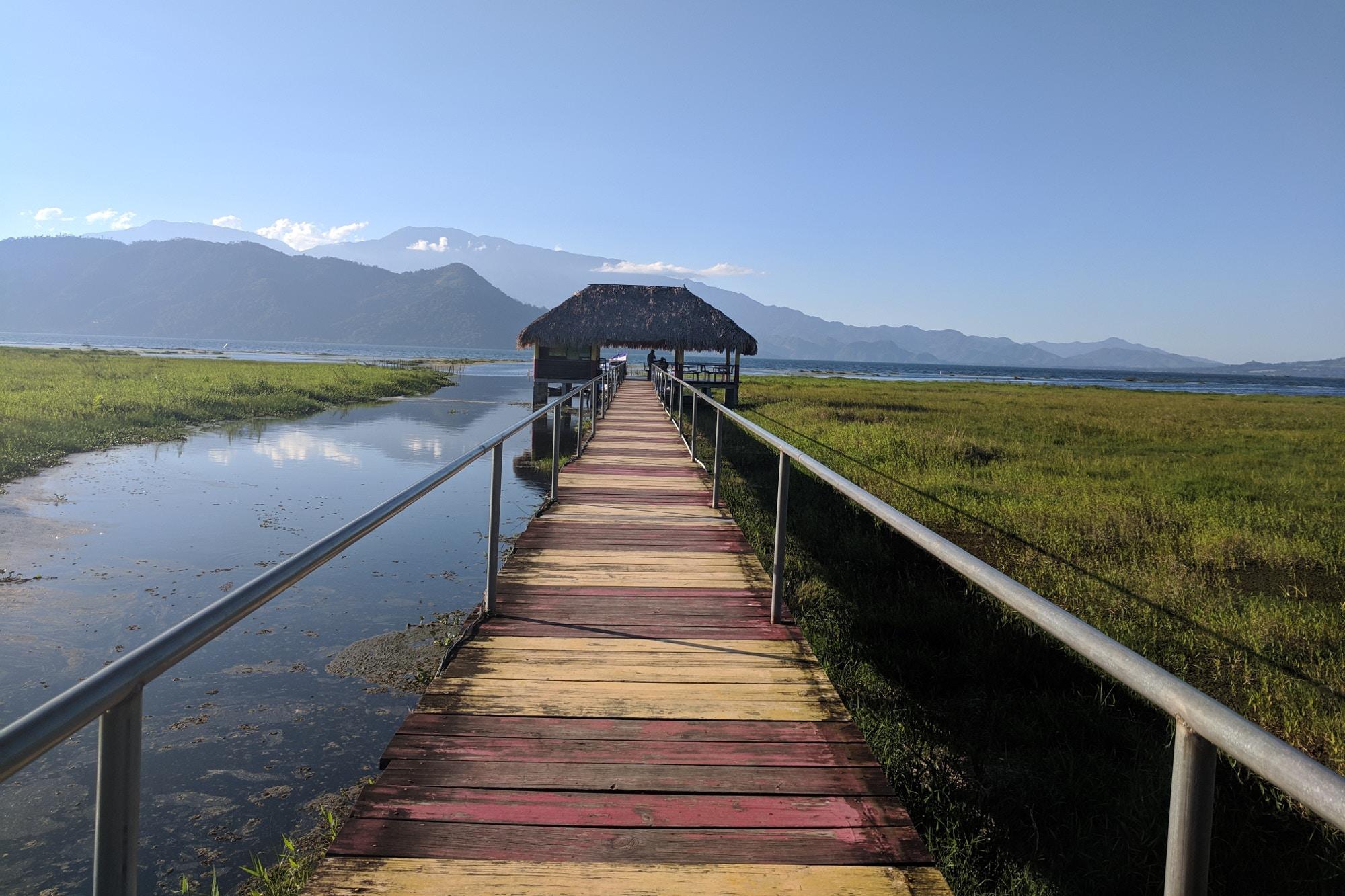 A view across Lake Yojoa