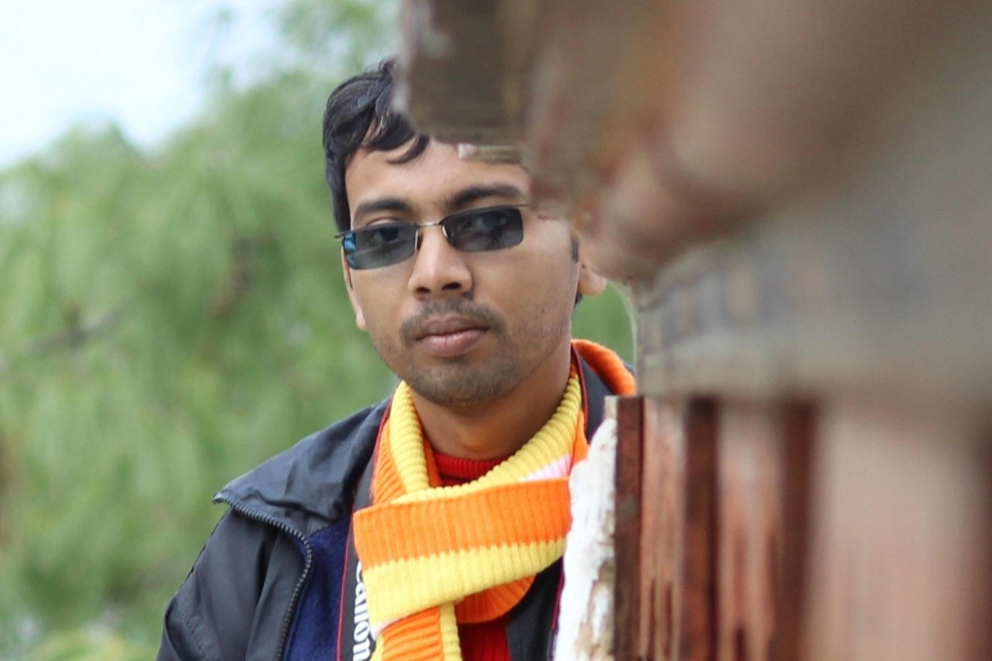 Off-the-beaten-track explorer Kalyan Panja © Kalyan Panja