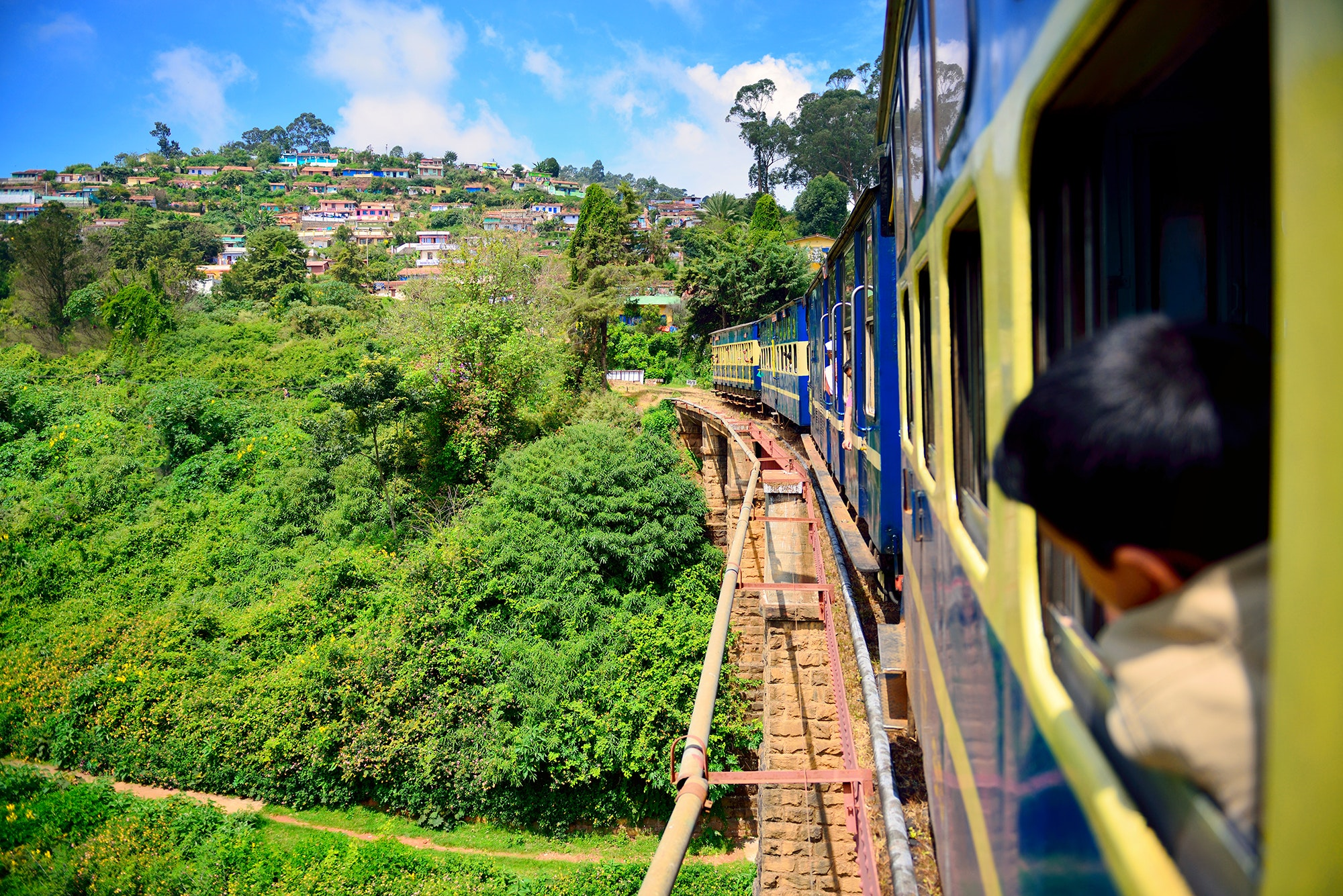 The Nilgiris Mountain Railway, India