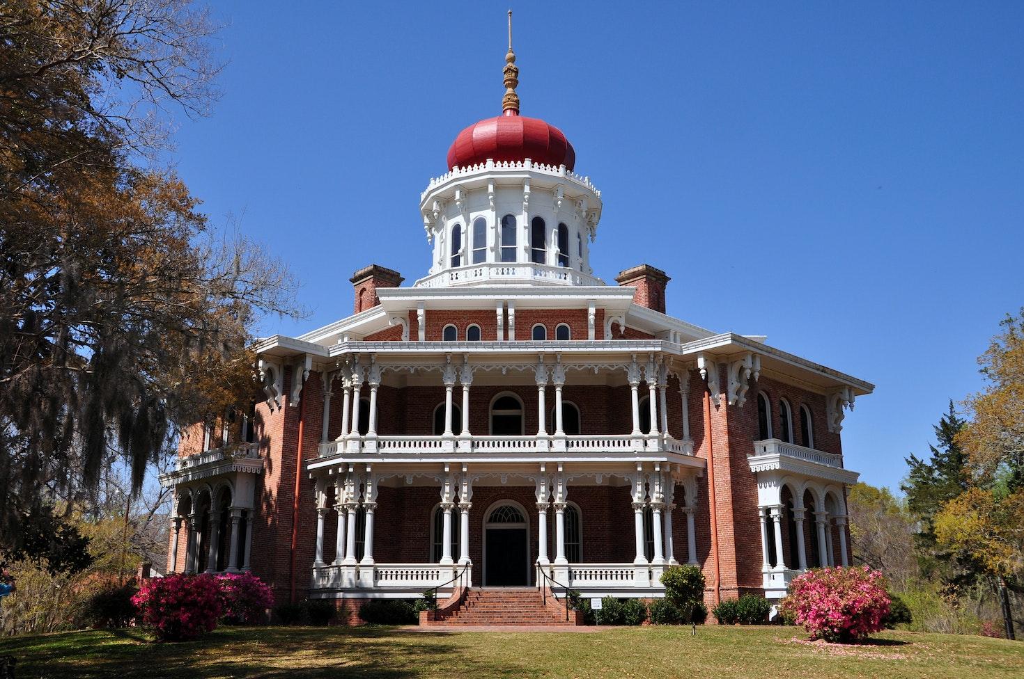Longwood, the historic antebellum octagonal mansion  Natchez, Mississippi © Helmut-Krass / 500px