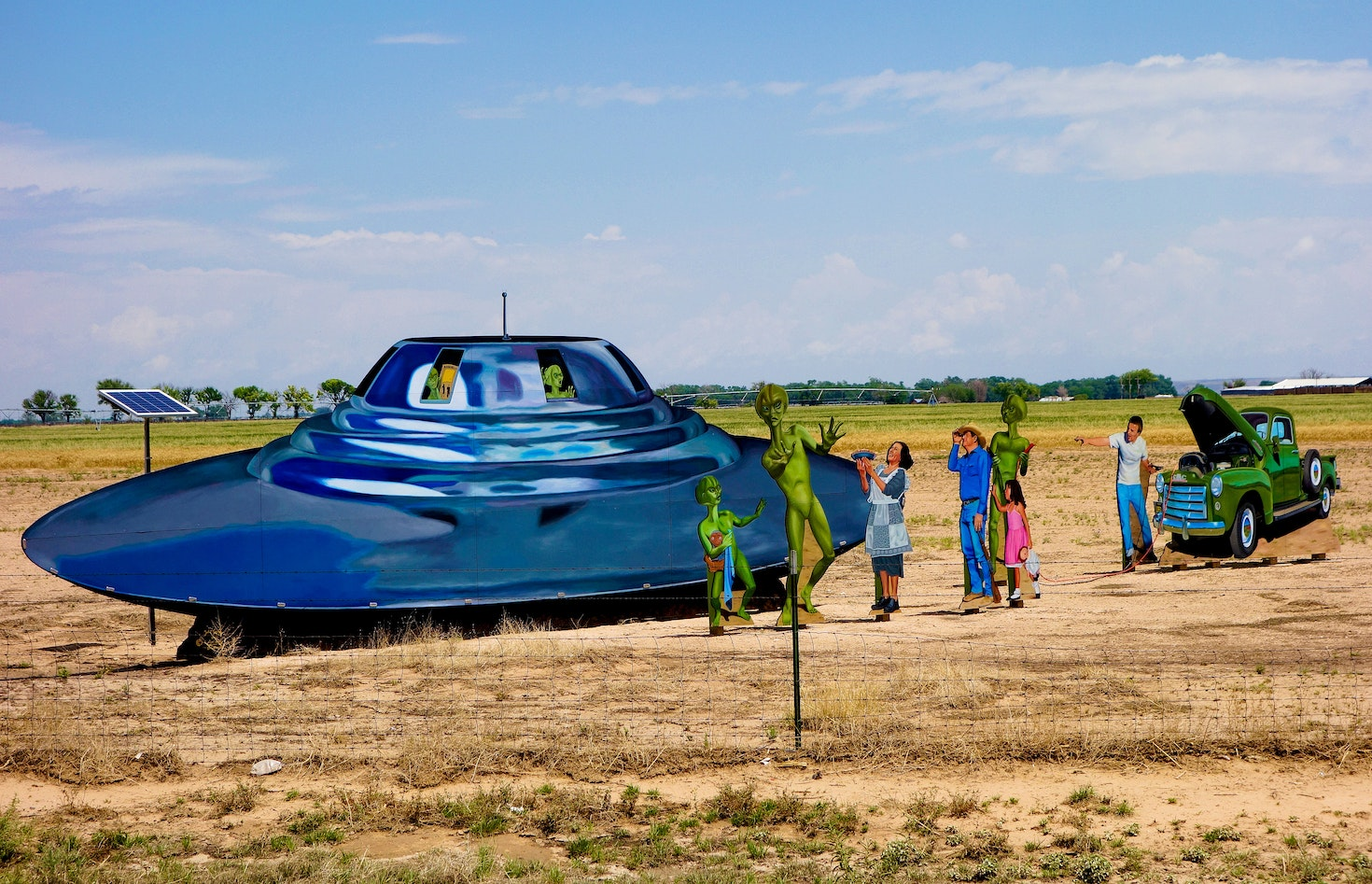Just a taste of the oddities to be found in and around Roswell, New Mexico © Robert Meyers-Lussier / 500px