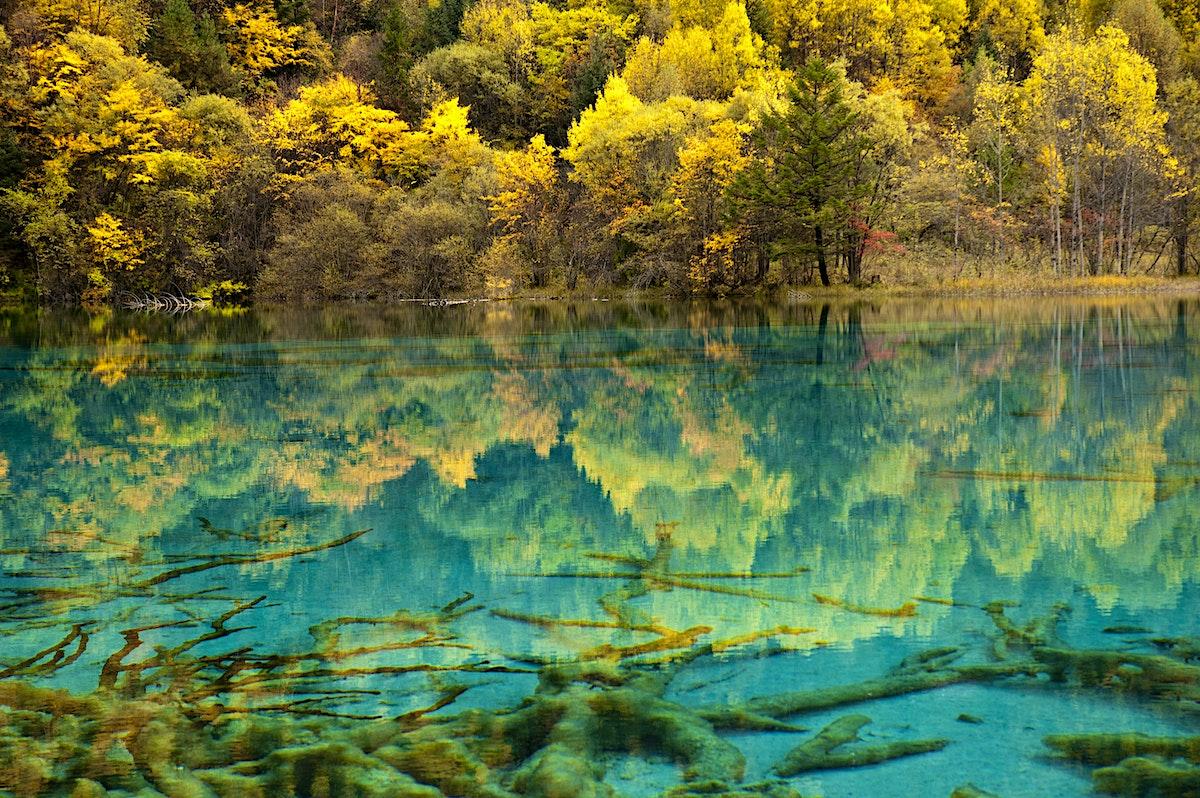 Jiuzhaigou National Park Travel Sichuan China Lonely