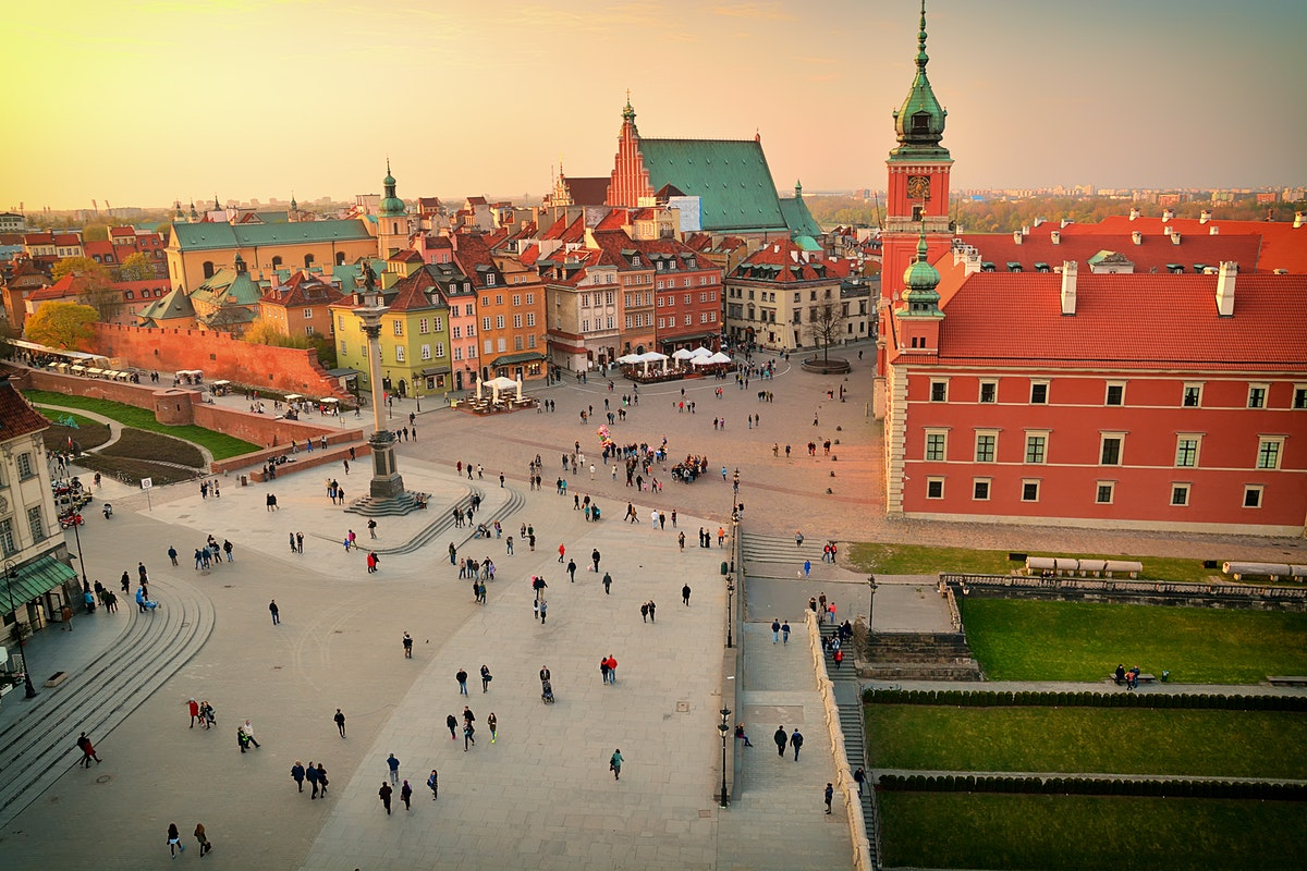 Warsaw Travel Lonely Planet - Where is warsaw