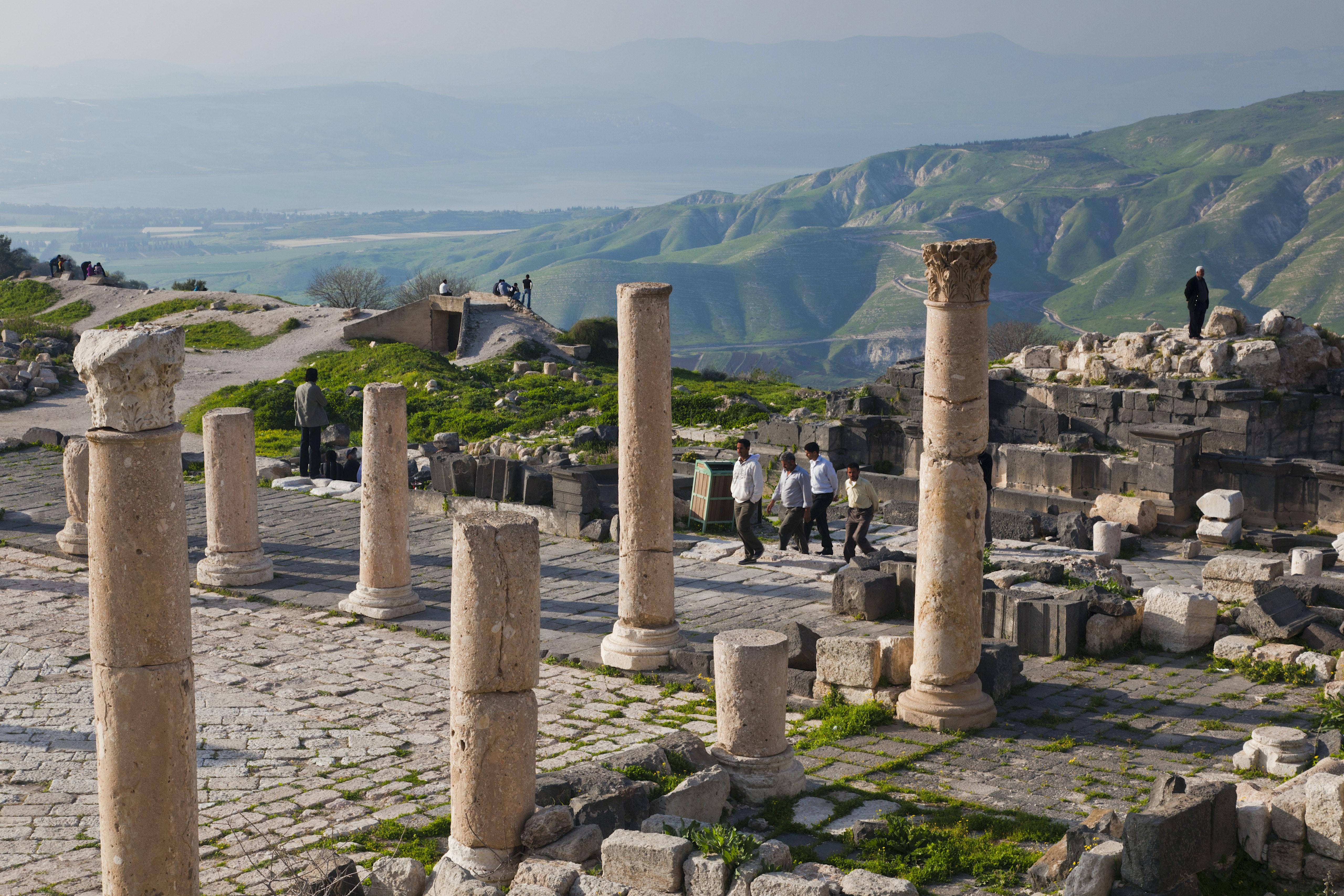 Umm Qais Travel Northwestern Jordan Jordan Lonely Planet