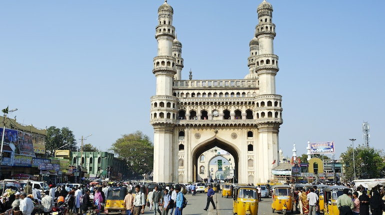 Charminar In Hyderabad India Lonely Planet