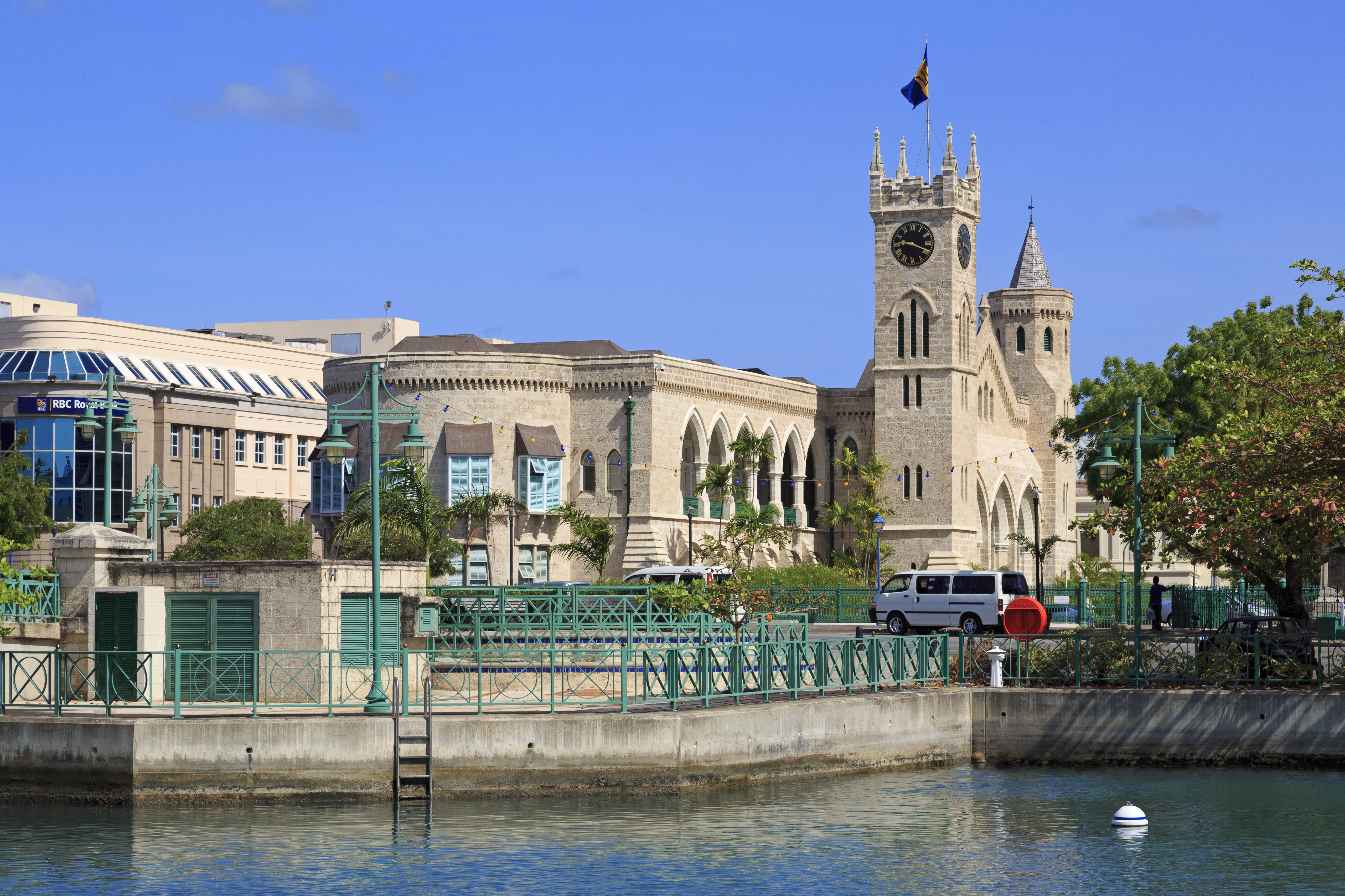 Parliament Buildings Bridgetown Barbados Attractions