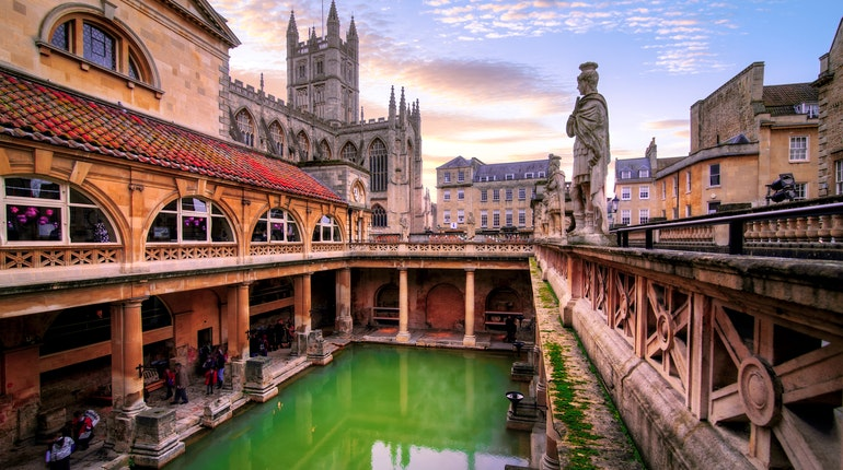 Roman Baths In Bath England Lonely Planet