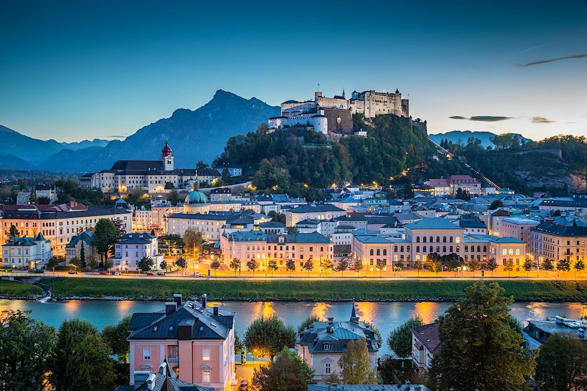 Salzburg Lonely Planet – Salzburg Tourist Map
