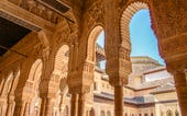 Attractions in Granada, Spain