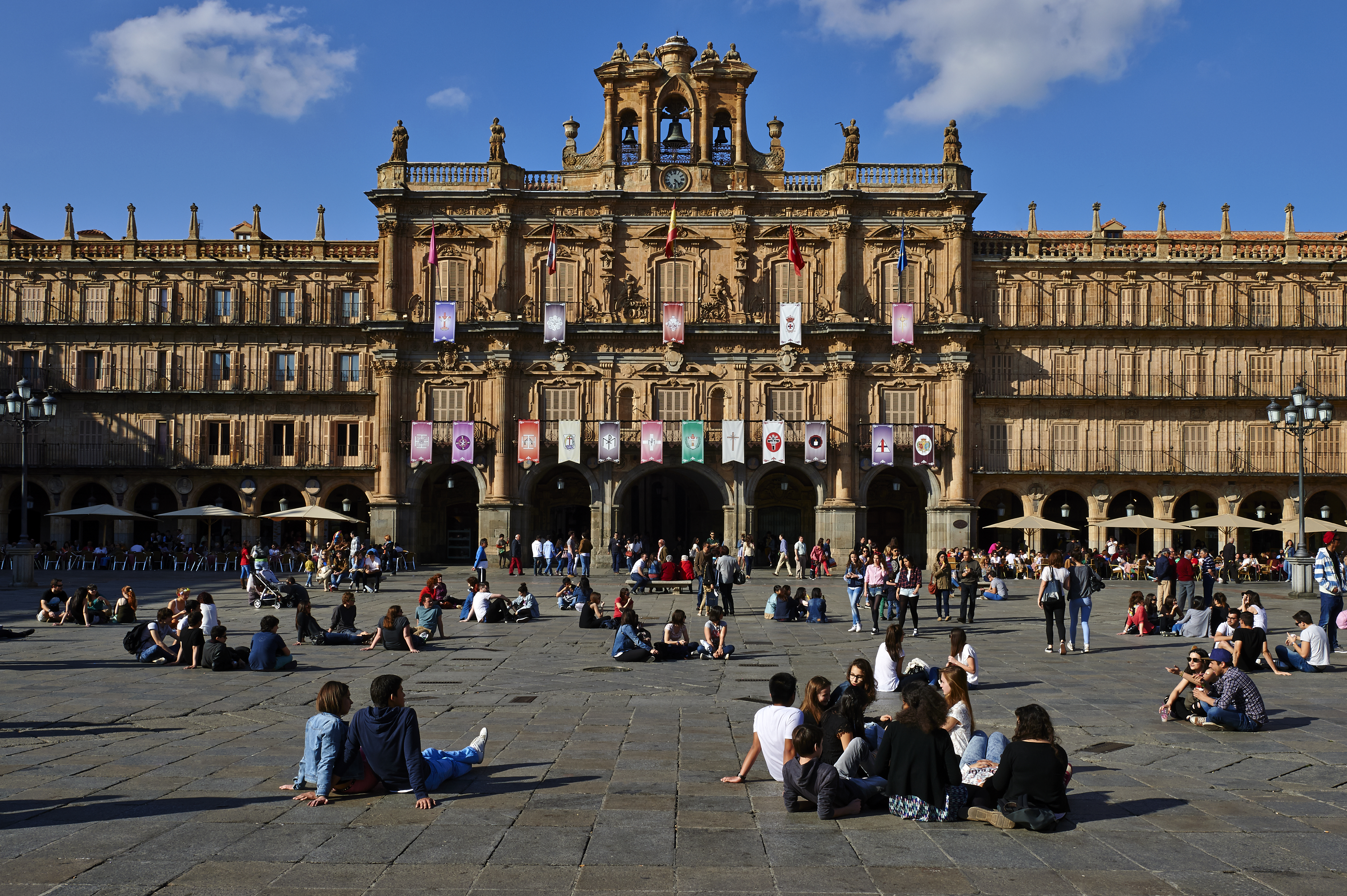 Plaza Mayor in Salamanca Spain Lonely Planet