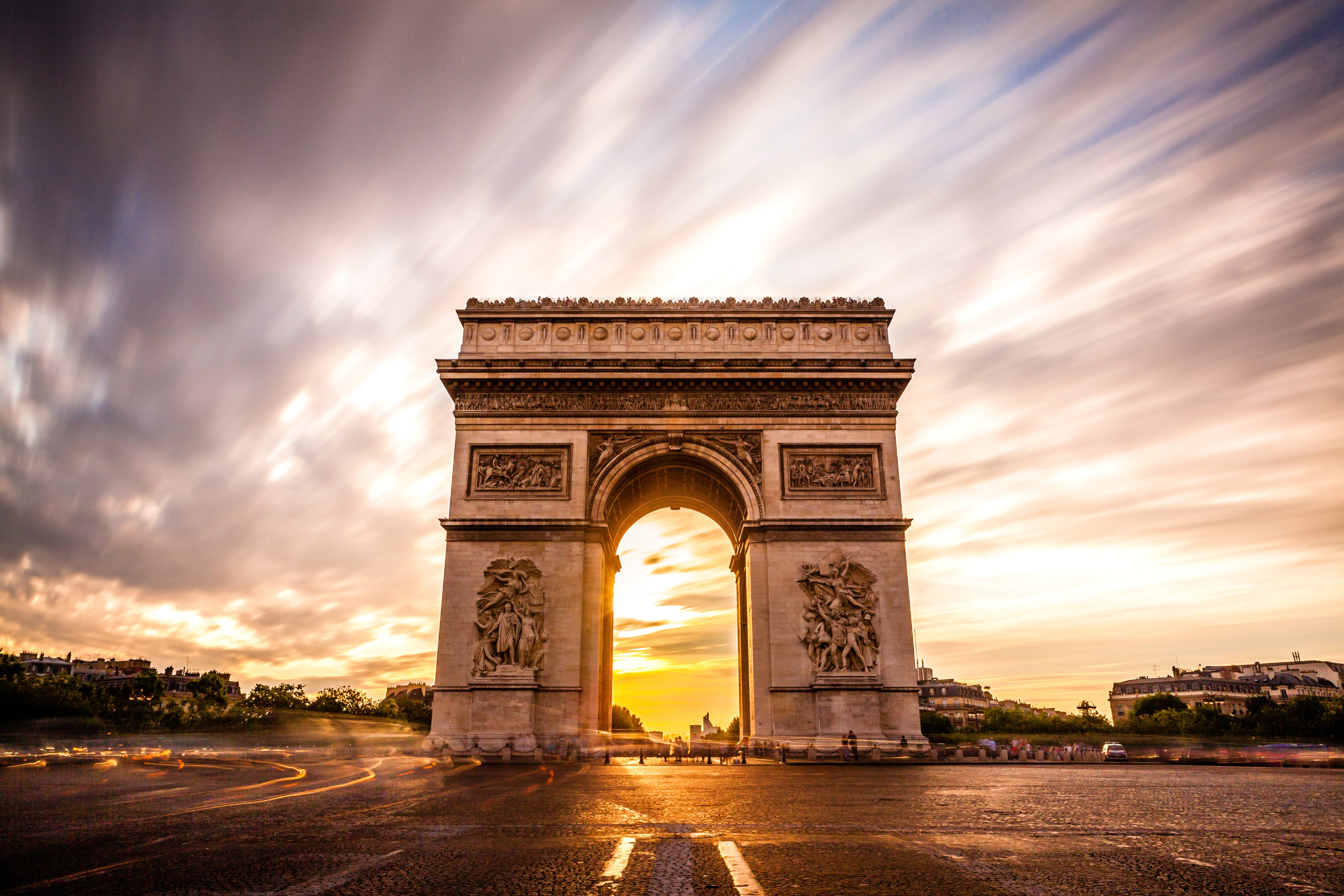 Image result for arc de triomphe