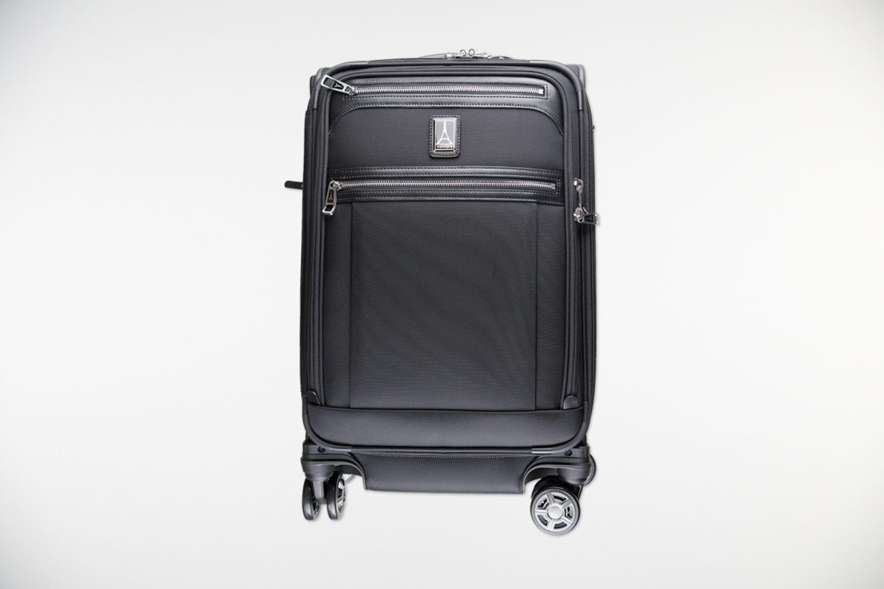 "The Platinum Elite 21"" Expandable Carry-On Spinner from TravelPro is one of  our 32bb17f673368"